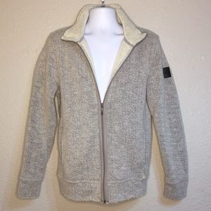 DKNY jeans men's cardigan Plushy Sweater Large